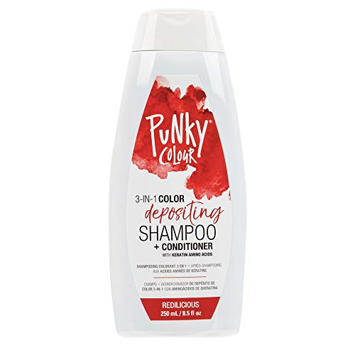 Punky Redilicious 3-in-1 Color Depositing Shampoo...