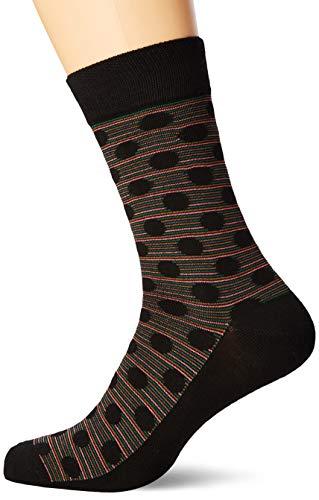 Ben Sherman Herren Empery Socken, Schwarz (Black Multi Pka), 7/10 (Herstellergröße: 7-11) (3er Pack)
