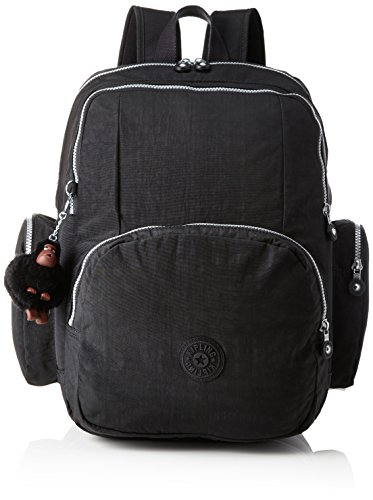 Kipling Courtney Mochila Tipo Casual, 42 cm, 26 litros, Negro (Black)