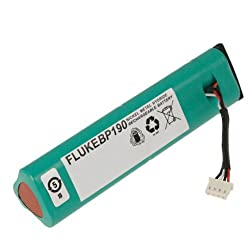 Fluke BP190 Rechargeable NiMH Battery Pack, 3500 mAh Capacity, 7.2V Voltage, For ScopeMeter 190 and 190C series