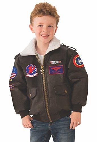 Rubie's Top Gun Child's Costume Bomber Jacket, Small