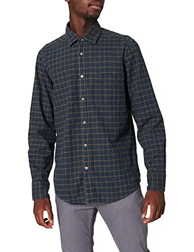 BOSS Relegant_2 Camisa, Dark Green308, XS para Hombre