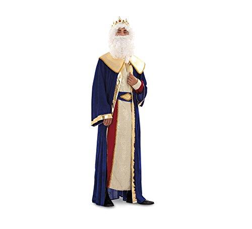 Disfraz o traje de Rey Mago Melchor de hombre talla M-L