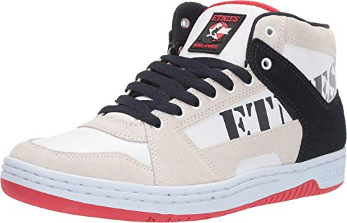 Etnies MC Rap HIGH White Navy RED Herren_Skaterschuhe, Schuhgröße:EU 48.0/14.0 US / 13.0 UK