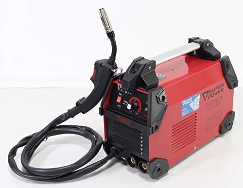 Super Power 73221 Equipo Soldadura Inverter 140A, 2 en 1, Trabaja com electrodos y con...