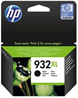 HP #932XL OfficeJet 6700 / 6600 / 6100 Black Inkjet Cartridge, Part #CN053AN