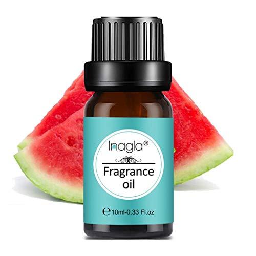 Inagla Aceites de Fragancia, Aceites de Aromaterapia, Aceites Esenciales para Humidificadores de Sandía 10ML