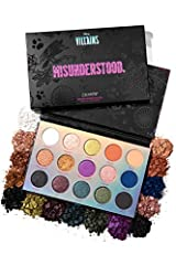 Rooting for the good guys is boring. In collaboration with their infamous villains, ColourPop is bringing you the palette to rule them all, Misunderstood. This mixed finish 15 pan eyeshadow palette combines intense mattes, colour shifting duo chromes...