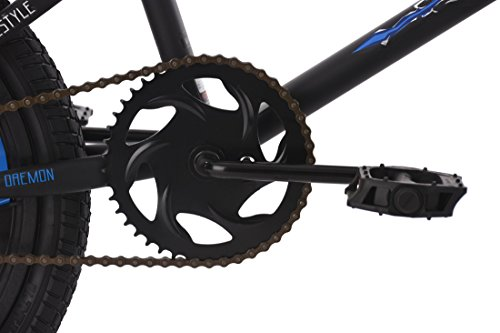 KS Cycling BMX Freestyle Daemon Fahrrad, schwarz-Blau, 20 - 2