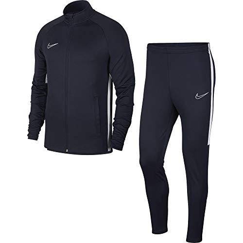 Nike Academy Track Suit K2 Tuta, Blu (Obsidian (White) 451), Medium Uomo