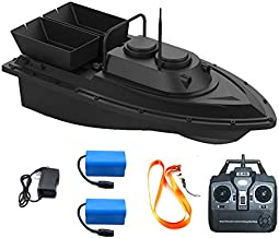 Meknic RC Fishing Bait Boat 2020 Update 2kg Loading 2pcs Tanks and 2pcs Batteries with Double Motors Fish Bait Boat, 500M/1640FT Remote Control Bait Boat Fishing(Fishing Bait Boat)