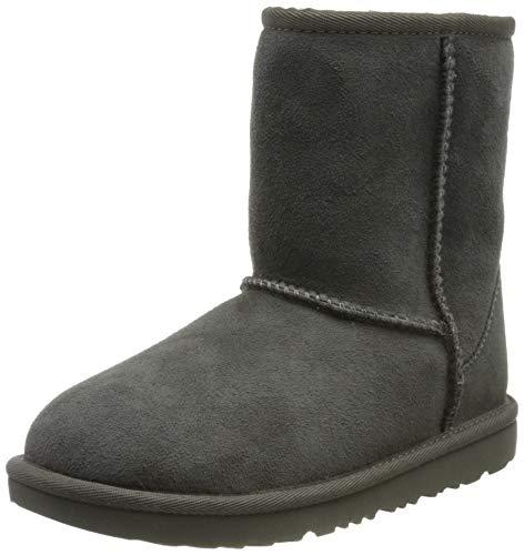 UGG II, Classic Boot Unisex-Adulto, Grey, 35 EU