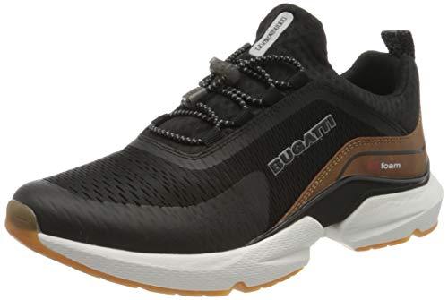 bugatti Herren 342848606959 Slip On Sneaker, Schwarz, 45 EU