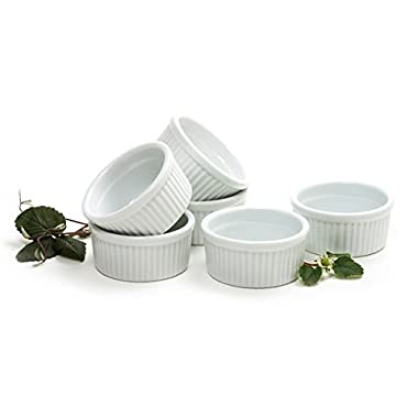 Norpro 4oz/120ml Porcelain Ramekins, Set of 6