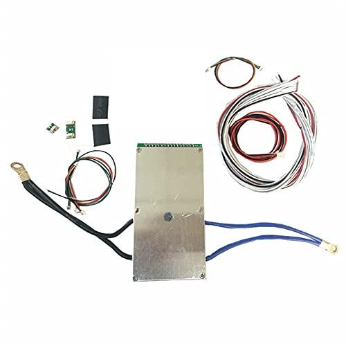 JSJJATQ Condensadores Smart 7S ~ 16S Tablero de protección de batería BMS 320A 100A Aplicación Bluetooth 10S 13S 14S Balance (Current : 7S to 16S 80A)