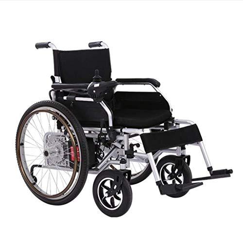 Wtbew-u Elektrische rolstoel, draagbaar, elektrisch, inklapbaar, gering gewicht, dubbele motor, lithium-ion accu, elektrisch, veilig en eenvoudig te rijden