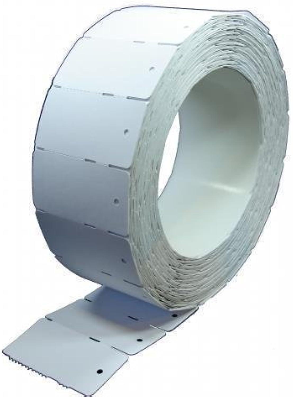 Kartonetiketten blanko 30 x 58mm - 10.000 Karton Etiketten auf Rollen B01NCTVM9B  | Förderung