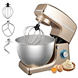 Stand Mixer, Sincalong 8.5QT 6 Speed Control Electric Stand Mixer with Stainless Steel Mixing Bowl and 3...