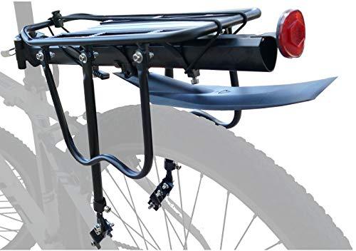 P4B | Sattelstützen Gepäckträger - bis max. 25Kg belastbar | Für 24-28 Zoll | Für Sattelstütz-Durchmesser bis 31,8 mm | Auflagefläche ca. 35 x 14,5cm