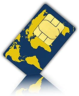 WorldSIM SIM Card for 175+ Countries with 20 Euro Credit to Use for Minutes, Messages or Mobile Data - WorldSIM Prepaid SIM Card Standard Micro & Nano