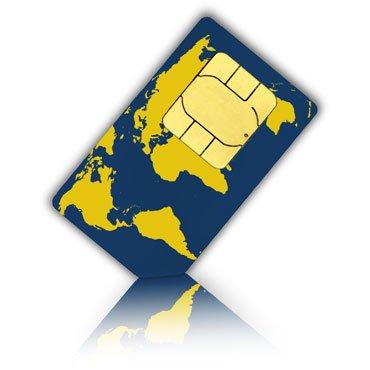 World-SIM Karte für 175 Länder + 30 Euro Guthaben - Standard, Micro & Nano SIM - Welt Prepaid SIM Karte