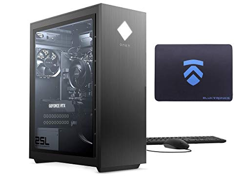 2021 Latest ELUK OMEN 25L Gaming PC