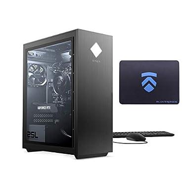 2021 Latest ELUK OMEN 25L Gaming PC (AMD Ryzen 7 3700X Processor, NVIDIA RTX 3070 Graphics Card, Windows 10 Home, Glass…