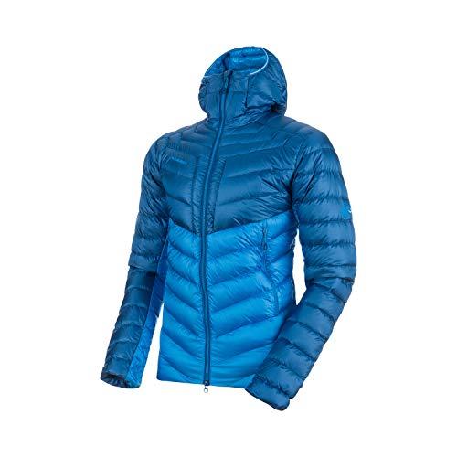 Mammut Broad Peak In Hooded Chaqueta de Montañismo y Escalada, Hombre, Azul (Imperial) / Azul (Ultramarine), S