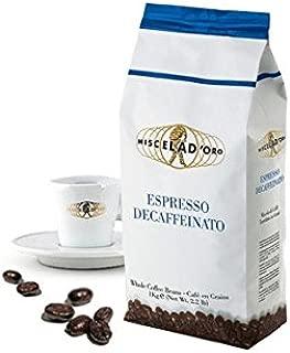 Miscela D'Oro Decaffeinated Espresso Beans - 2.2 lb