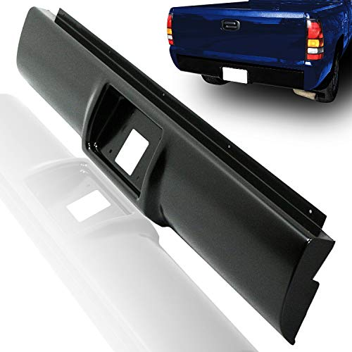 Make Auto Parts Manufacturing Premium Rear Roll Pan Primed Steel with License Plate Holes For Chevrolet & For GMC C/K Series C1500 C2500 C3500 K1500 K2500 K3500 1988-1998