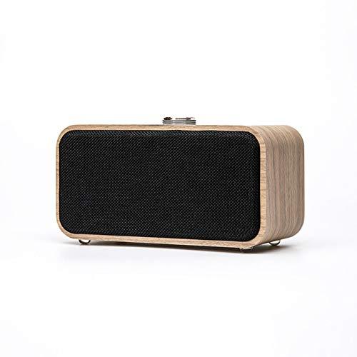 Altavoz Bluetooth inalámbrico de Madera portátil Vintage Radio FM Tarjeta TF Altavoz bajo Pesado Regalo de año Nuevo en Radio de Electrónica de Consumo en AliExpress.com   Grupo Alibaba Color Claro