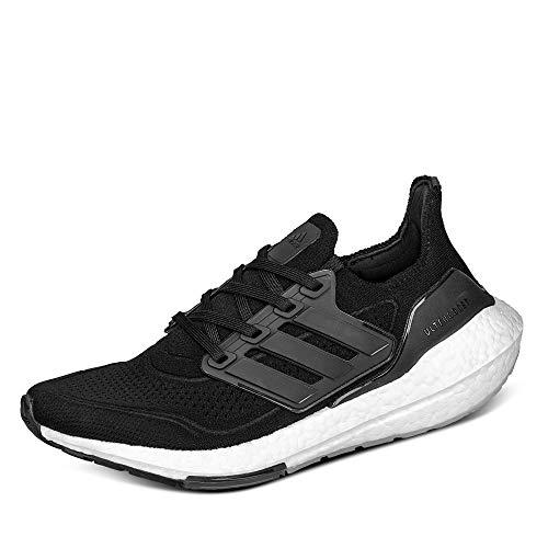 adidas Ultraboost 21 W, Zapatillas para Correr Mujer, Core Black/Core Black/Grey Four, 41 1/3 EU