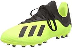 adidas X 18.3 AG, Zapatillas de Fútbol Hombre, Amarillo (Solar Yellow/Core Black/Solar Yellow 0), 38 EU