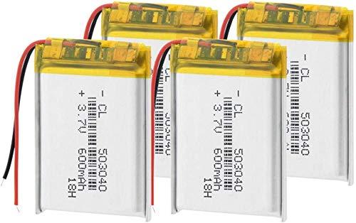 503040 Batería de polímero de Litio Batería Recargable de Li Po Baterías...