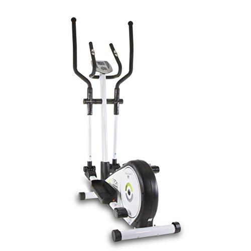 Tecnovita by BH VITACROSS YC200 Crosstrainer, ellipsentrainer, 7 kg schwungmasse, mit manuellem magnetbremssystem, 33 cm schrittlänge informativer LCD-Monitor