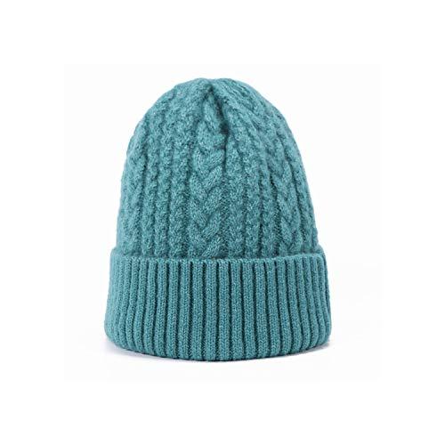 Yeenvan Gorros de Lana de Punto para Hombres Invierno de Las Mujeres de Cobertura Sombrero Caliente Grueso de algodón Sombrero al Aire Libre Unisex Casquillo...