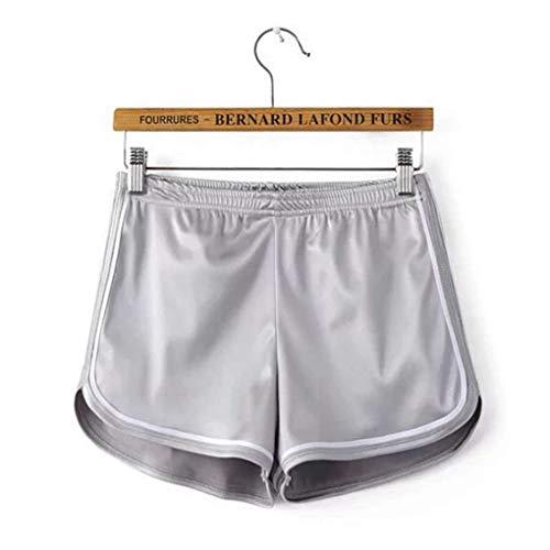 Dames Slim Beach Dolphin Shorts Elastische sportshorts met hoge taille, korte sportschool korte broek