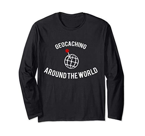 Geocaching World Location Game Global Geocache Manga Larga