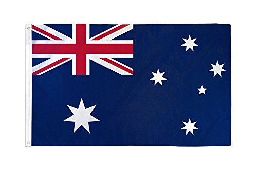 Home and Holiday Flags 2x3 Australia Flag Australian Banner Country Pennant Indoor Outdoor 24x36