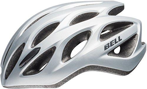 BELL Tracker R Casco de Bicicleta, Unisex Adulto, Plateado Mate/Titanio, Talla única