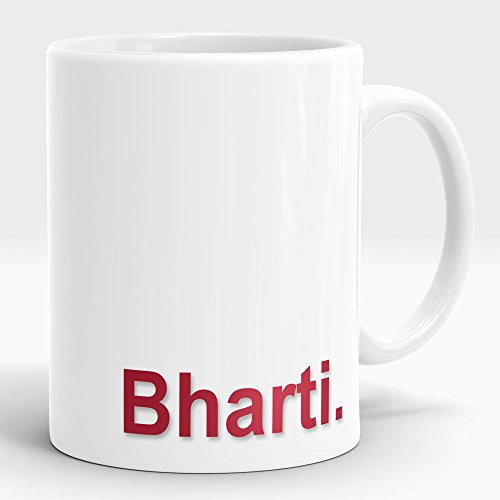 LASTWAVE Valentine Gifts for Boyfriend Girlfriend Love Printed Ceramic Mug with name Bharti