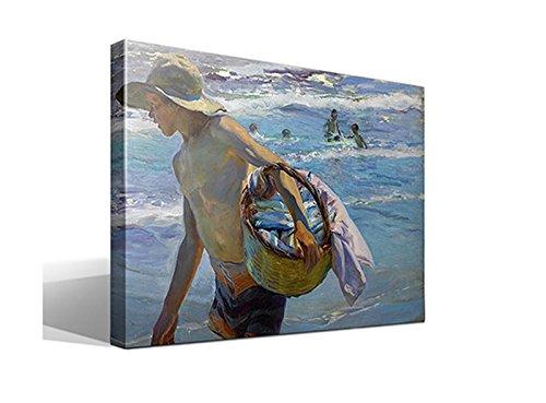 cuadro canvas El Pescador de Joaquin Sorolla y Bastida - 55cm x 75cm