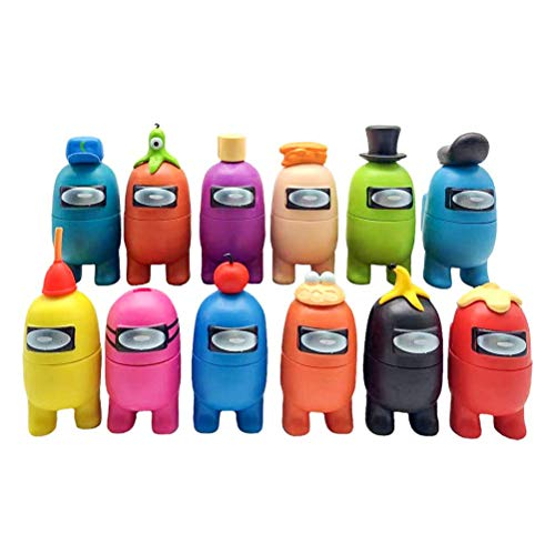 JOAN Among Us Figuras en Miniatura, Navidad DIY Figuras de jardín Decoraciones...