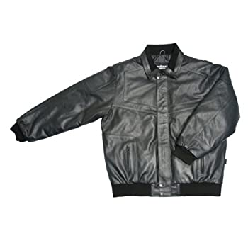 Mossi Deluxe Thinsulate Leather Snowmobile Jacket  Black XX-Large