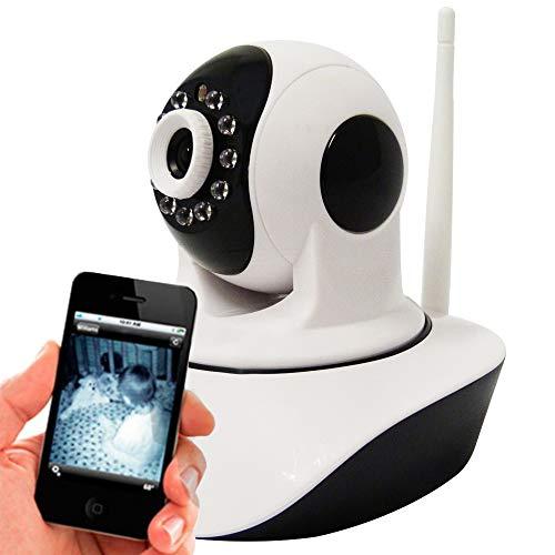 Camera Ip Baba Eletrônica 1.3 Mp Alta Resolução Hd 720 P2p Noturna Wireless