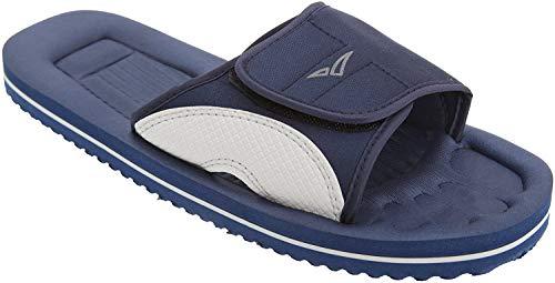 PDQ Herren Surfer Touch Beach/Pool Schuhe (43 EU) (Blau/Grau)