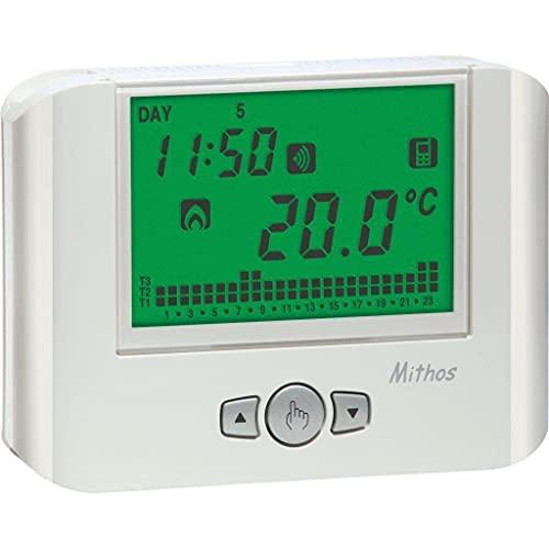 termostato wifi unità remota Vemer VE769100 Cronotermostato Mithos Color Wi-Fi da Parete a con Controllo Remoto Via App