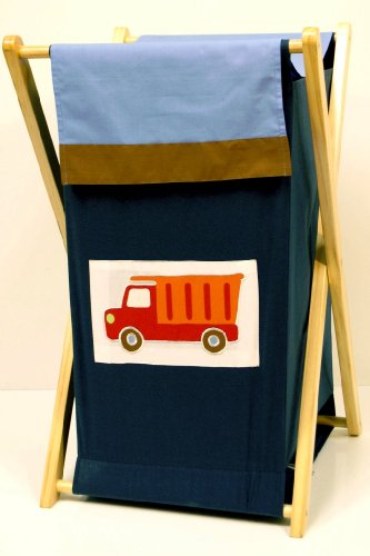 Bacati - Transportation Multicolor Hamper