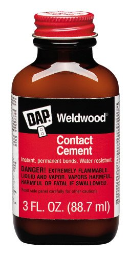 12 Pack Dap 00105 Weldwood Contact Cement - 3-oz Jar (00107)