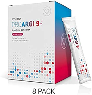 ProArgi-9 Plus Mixed Berry Single Serves(5,8,or 11) Boxes: Nitric Oxide & L-Arginine Dietary Supplement with L-Citrulline for Healthy Cardiovascular Function by Synergy Worldwide (8)